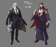 Anjou and Chisei Gen