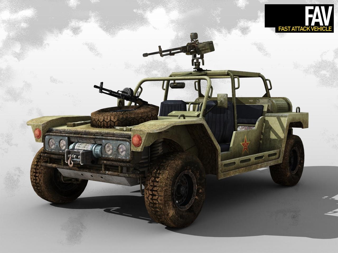 Fast Attack Vehicle | Dragon Rising Wiki | FANDOM powered ...