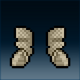 Sprite armor chain rusted feet