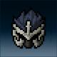 Sprite armor plate dwarven head