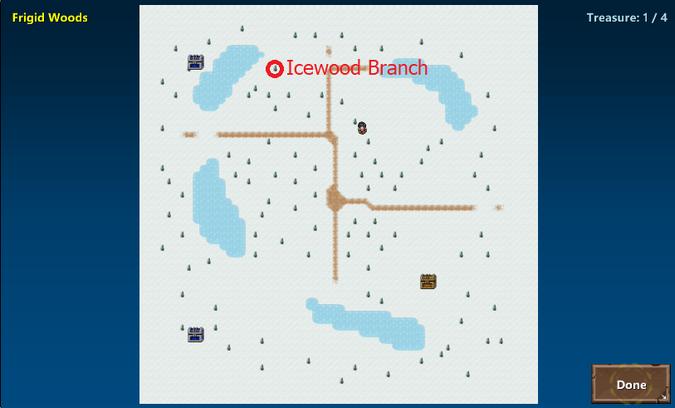 Frigid Woods(Sola Map)