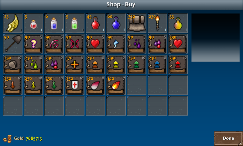 Shop 2 briston items spell
