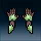 Sprite armor plate elven hands