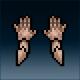 Sprite armor plate hardened hands