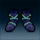 Sprite armor cloth deep feet
