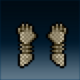 Sprite armor chain reinforced hands