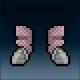 Sprite armor chain turqorium feet