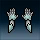 Sprite armor plate tortisian hands