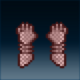 Sprite armor chain crimson hands