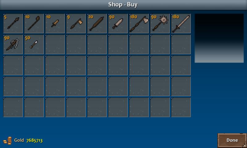 Shop 1 flint weapons