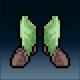 Sprite armor plate elven feet