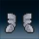 Sprite armor chain chain feet