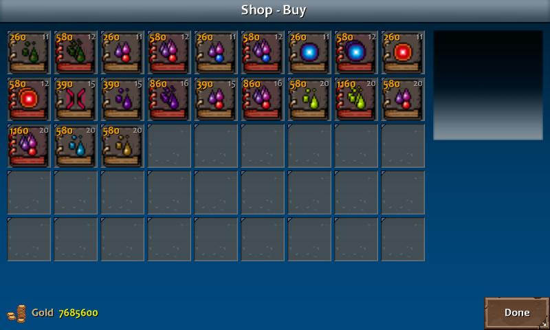 Shop 3 kera spells nec