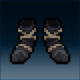 Sprite armor cloth tattered feet