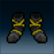 Sprite armor cloth blackened feet