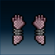 Sprite armor chain turqorium hands