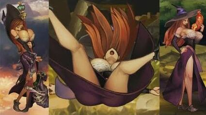Dragon's Crown - All Sorceress Animations