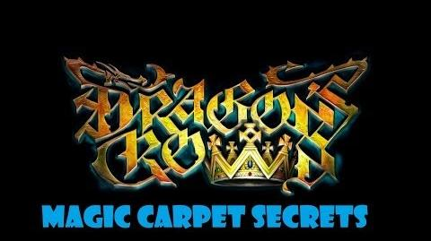 Dragons Crown Side Mission - Magic Carpet Secrets - Ps3 and Xbox 360