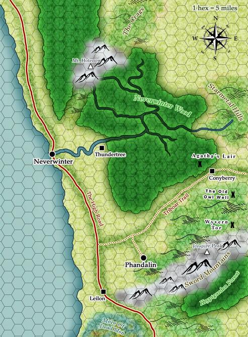 The sword coast updated