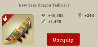 New Year Tailbrace