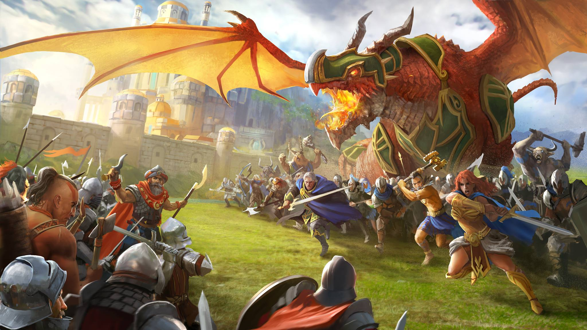 Dragons of Atlantis apk android, pc et ios