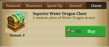 Water Dragon Chest