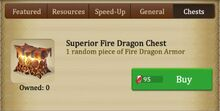Fire Dragon Chest