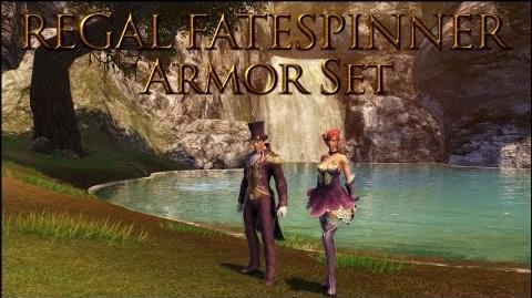Dragon's Prophet Regal Fatespinner Armor Set Female & Male