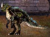 Mosshorn Raptor Dragon