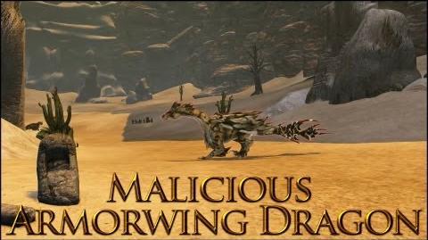 Dragon's Prophet Malicious Armorwing Dragon