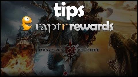 Dragon's Prophet Raptr Rewards