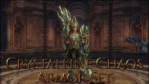 Dragon's Prophet Crystalline Chaos Armor Set