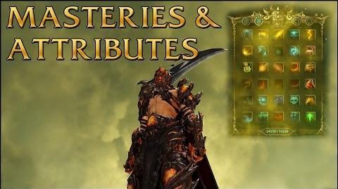Dragon's Prophet Masteries & Attributes