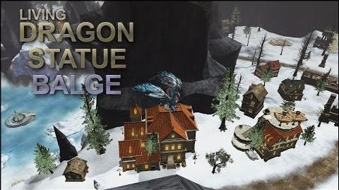Dragon's Prophet Balge as a Living Dragon Statue