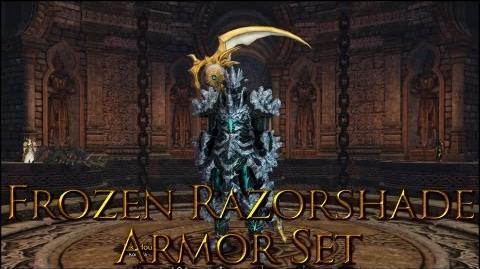 Dragon's Prophet Frozen Razorshade Armor Set