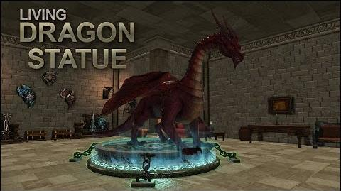 Dragon's Prophet Living Dragon Statue