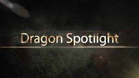 Dragon Spotlight 25 - Tundra Sawtooth Dragon