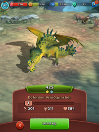 Defender Windgnasher Short Wing