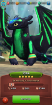 St. Paddy's Toothless Titan Wing 2