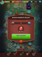 Autocomplete Quest