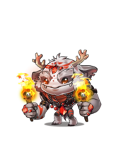 SnowMonster fire a 1
