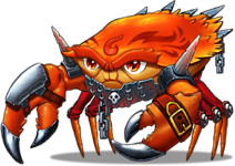 Crab fire evo1