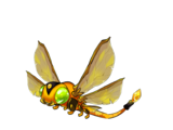 Citrine jewelfly
