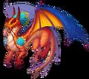 Fire Triton Dragon