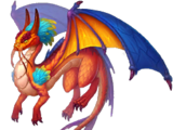 Fire Triton Dragon