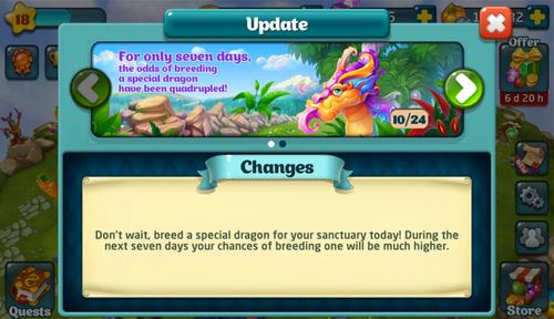 Mirage Breeding Odds Update