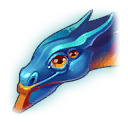 Blue-WingedDragonProfile