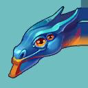 Blue-WingedDragonProfile