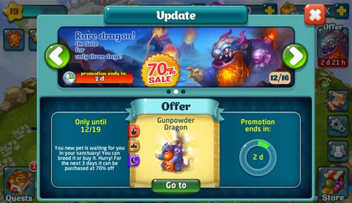 Gunpowder Dragon Update