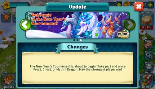 Tournament XXXIX Update